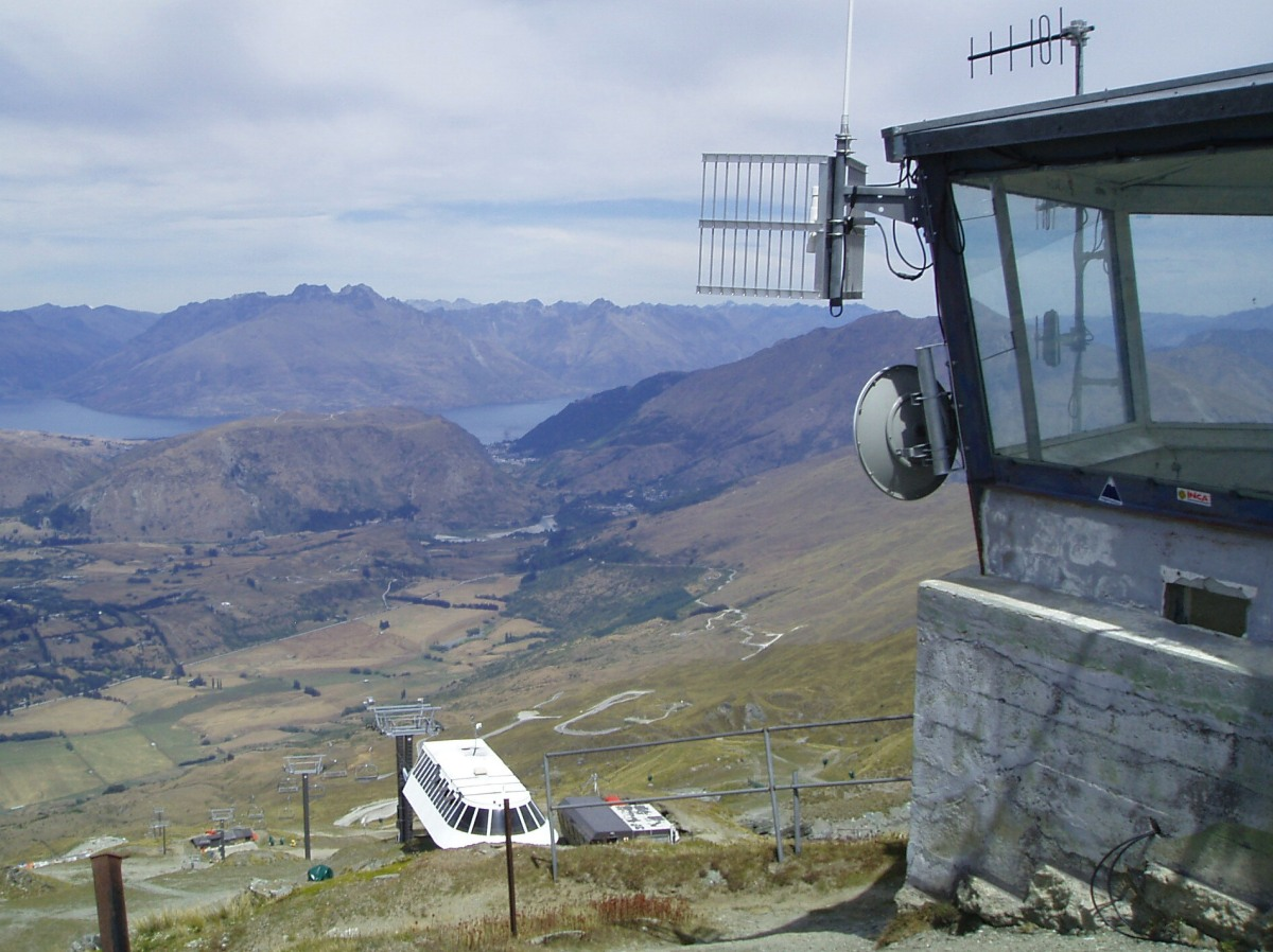 Coronet Peak - biking and walking tracks